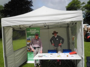 Dominic and Mike attend the Pathways to Construction event in Hastings