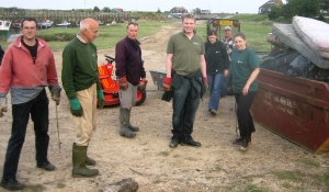 This litter pick at Rye Rye Harbour was on World Environment Day 2007